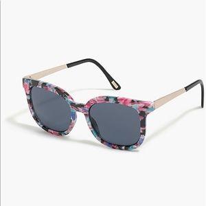 NWT J.Crew Multicolor Sunglasses